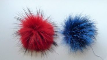 Pompom Colores Mapache