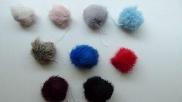 Pompom Conejo Colores