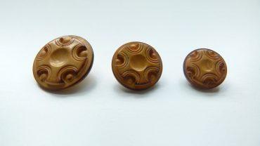 Botón Madera Medieval