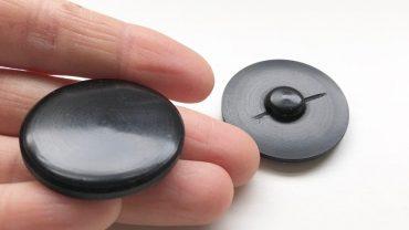 Botón Mate Chapa Negro