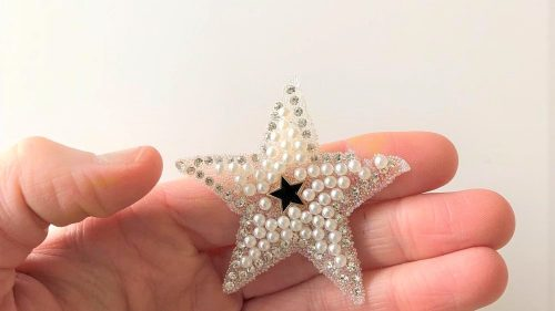 Parche Estrella Perlas