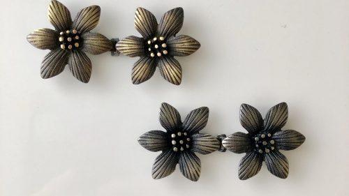 Enganche Flor Metal