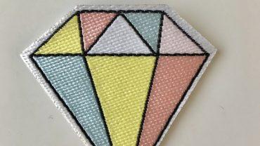 Pegatina Diamante Colores