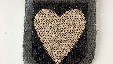 Pegatina Corazón Lentejuelas