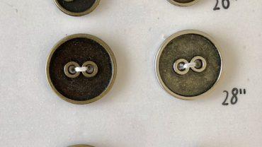 Botón Metal 2 Taladros