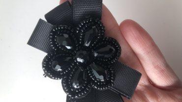 Lazo Flor Negra