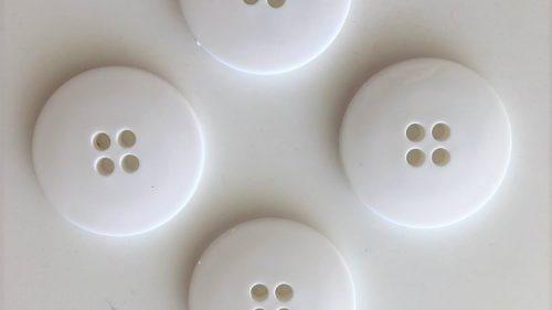 Botón Grande Blanco