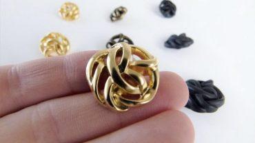 Botón Metal Arabesco