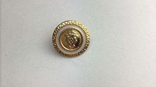 Botón Escudo Oro
