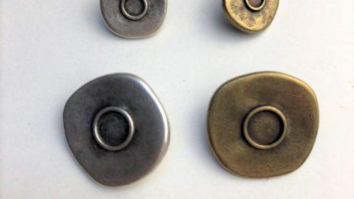 Botón Círculo Rústico