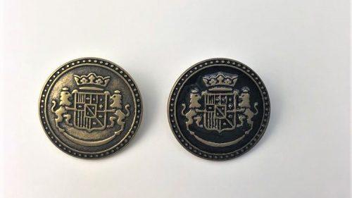 Botón Escudo España Leones