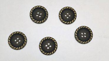Botón Sastre Cuerda Metal