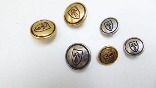Botón Escudo Medieval