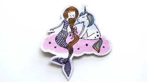 Pegatina Sirenita & Unicornio