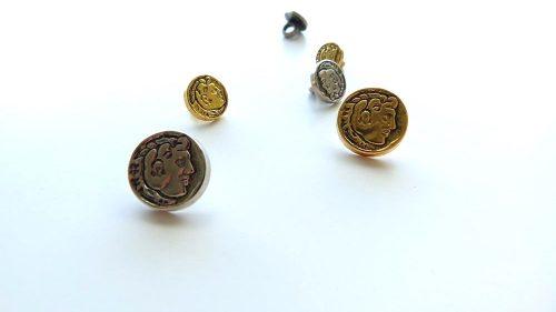 Botón Metal Emperador Trajano
