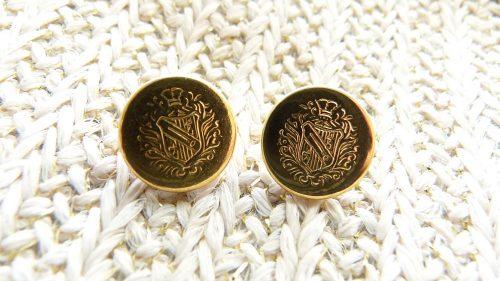 Botón Oro Escudo