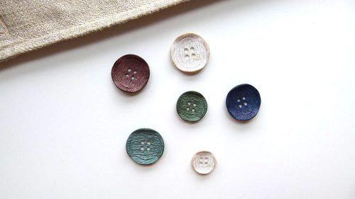 Botón Chip Rugoso Colores 4 Agujeros