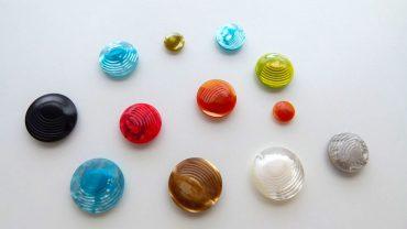 Botón Olas Colores