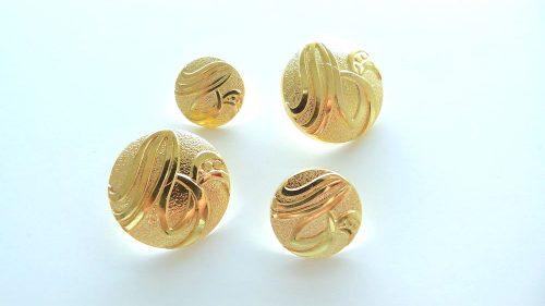 Botón Filigrana Oro
