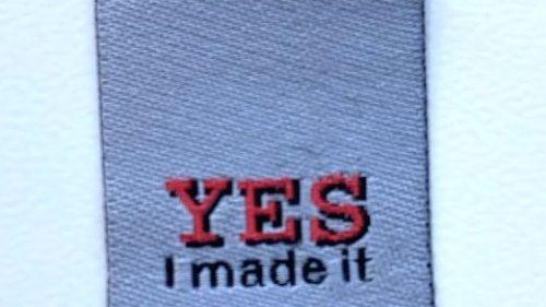 "Pegatina Termoadhesiva "" YES I Made It"""