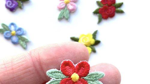 Pegatina Termoadhesiva Rosas Colores