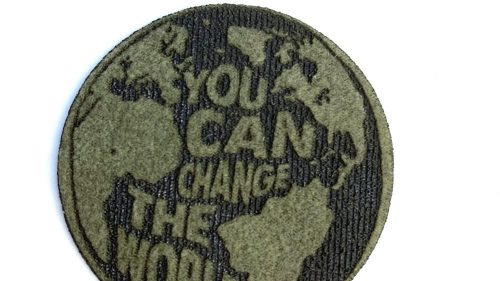 Pegatina You Can Change The World Imipiel