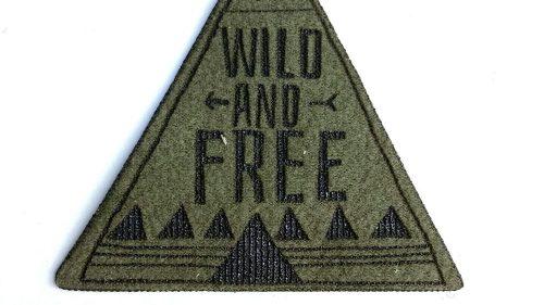 Pegatina Wild And Free